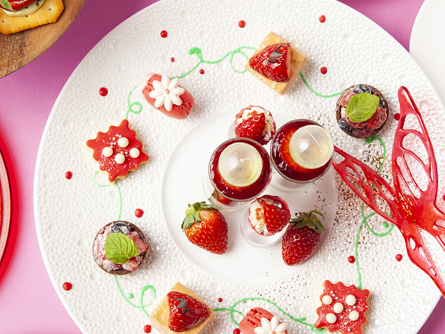 Gallery Afternoon Tea「Berry Berry」