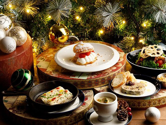 クリスマスディナー付きプラン