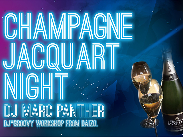 CHAMPAGNE JACQUART NIGHT