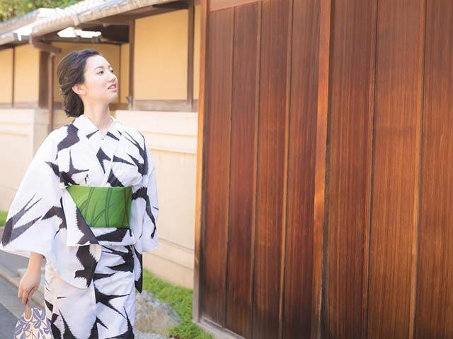 はんなり浴衣で夏の京散策